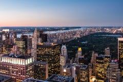 NYC-Landschap Stock Afbeelding
