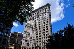 NYC :  Le bâtiment de fer à repasser Photo stock