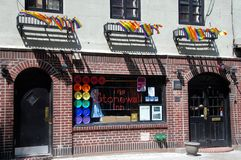 NYC: Legendary Stonewall Inn Stock Photos