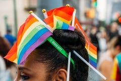 NYC LGBT自豪感2018年3月 库存图片