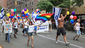 NYC LGBT Gay Pride March 2010 Stock Photography