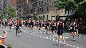 NYC LGBT Gay Pride March 2010 Stock Photos