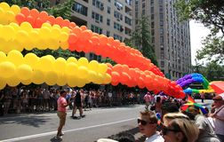 NYC LGBT Gay Pride March 2010 Stock Images