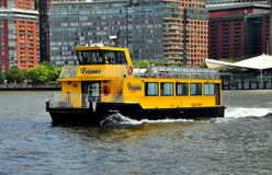 NYC:  Liberty Ferry Boat on Hudson River Stock Photo