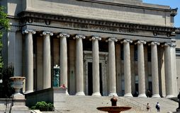 NYC:  The Library of Columbia University Stock Image