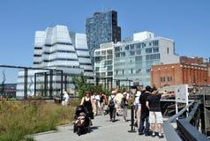NYC: A linha elevada parque Fotografia de Stock Royalty Free