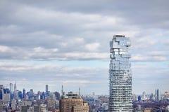 NYC linia horyzontu z Empirowym stanem Building_01 obrazy royalty free