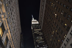 NYC - looking up. Royalty Free Stock Photos