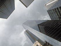 NYC - looking up. Royalty Free Stock Image