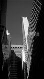 NYC - looking up. Stock Photography