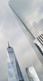 NYC - looking up. Stock Photo