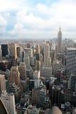 NYC Luftaufnahme Lizenzfreie Stockfotos