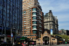 NYC: Luxury Apartments on NYC's Broadway Royalty Free Stock Photos