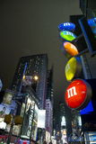 NYC M&M Images stock