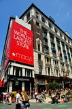 NYC: Macy's Department Store stock photography