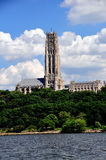 NYC:  Majestic Riverside Church Stock Images