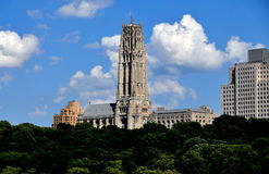 NYC:  Majestic Riverside Church Royalty Free Stock Image