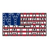 NYC Manh kolor Zdjęcie Royalty Free
