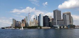 NYC MANHATAN SEPTEMBER stock afbeeldingen
