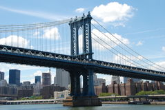 NYC:  The Manhattan Bridge Stock Images