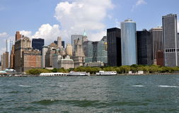 NYC: Manhattan Island Skyline Royalty Free Stock Image