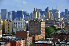 NYC: Manhattan Vista e skyline Foto de Stock Royalty Free