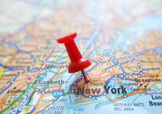 NYC map Stock Photos
