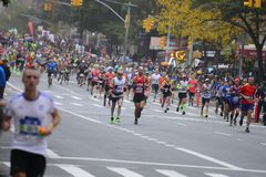 2017 NYC-Marathon Royalty-vrije Stock Foto