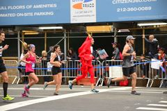 2017 NYC-Marathon Stock Foto's