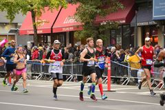 2017 NYC-Marathon Royalty-vrije Stock Foto's