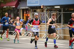 2017 NYC-Marathon Royalty-vrije Stock Afbeeldingen