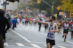 2017 NYC-Marathon Royalty-vrije Stock Fotografie