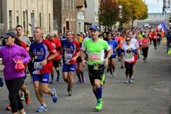 2013 NYC-Marathon Stock Afbeelding
