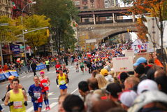 NYC Marathon 2013 Royalty Free Stock Photography