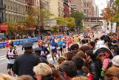 NYC Marathon 2013 Royalty Free Stock Images
