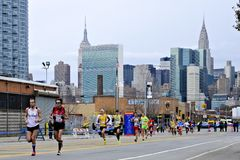 2013 NYC Marathon Stock Images