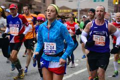 2013 NYC Marathon Royalty Free Stock Image
