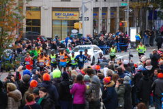 2014 NYC Marathon Mens Leader Pack Royalty Free Stock Photography