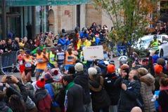 2014 NYC Marathon Mens Leader Pack Stock Photo