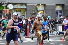 2017 NYC Marathon Stock Photography