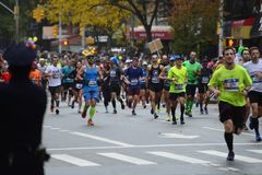 2017 NYC Marathon Stock Image