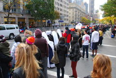 2014 NYC Marathon spectators - Nuns Royalty Free Stock Photo