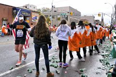 2013 NYC Marathon royalty free stock image