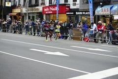 2017 NYC-Marathon - Vrouwen Stock Afbeelding