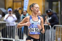 2017 NYC Marathon - Women Stock Photos