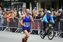 2017 NYC maraton Zdjęcia Royalty Free