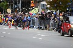 2017 NYC maraton - elita kobiety zdjęcia royalty free