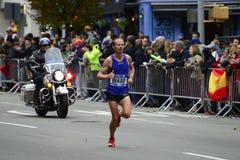 2017 NYC maraton - Jared oddziału mężczyzna elita fotografia stock