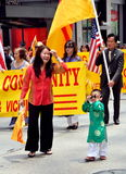 NYC: Marchers in Immigrants Parade Stock Photos