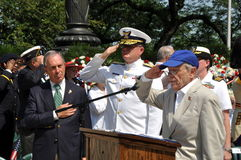 NYC:  Mayor Michael Bloomberg Royalty Free Stock Photography